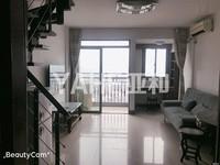 亚和现代公寓40平复式楼中楼107万 精致两房 高楼层 首付只要40万稠江双学区