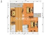 北苑沪江公寓80平边套简装修满2年120万便宜的秒杀好房子