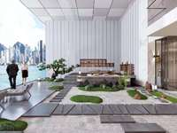 中央城 商博花园 楼中楼400平带空中花园 泳池 奢享一线江景和几十公顷江滨绿廊